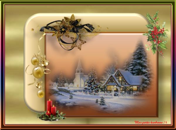 Mes créas paysages hiver