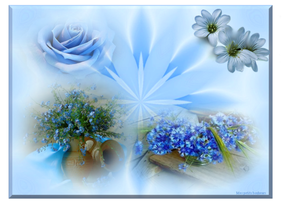 Mes créas fleurs